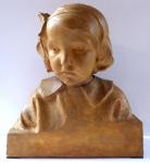 Bust Eugenie Fleckove - Frantisek Duchac Vyskocil