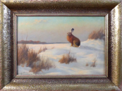 Heinz Roder - Hare in the snow