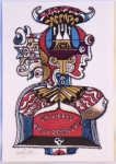 Josef Liesler - Ex libris Ing. V. Zdenovec