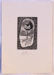 Josef Liesler - Ex libris Ing. Frant. Kovarika
