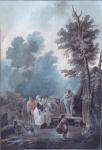 Charles Melchior Descourtis - Fiore di Village