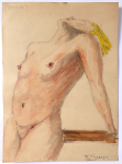 Frana Smatek (Smetak) - Nude girl with a bowed head