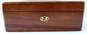 Jewelry boxes, a box of walnut veneer