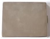Silver case with guilloche