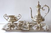 Silver coffee set - Victor Nuber, Vienna
