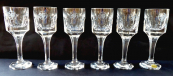 Six glasses for port or sherry - Moser, Hotel Forum