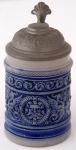 Ceramic small jug with a neo-renaissance motif