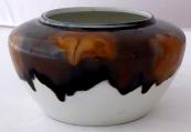 Porcelain white bowl with Art Nouveau ornament  - Oeslau, Wilhelmsfeld