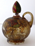 A jug with a handle in a historicist style and painting