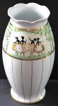Vase with dancers, Art Nouveau - Altrohlau