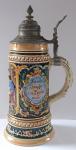 Ceramic jug, country pub - Albert Thewalt, Höhr