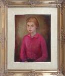 Miloslava Vrbova-Stefkova - Portrait of a girl