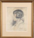 Gustav Pors - Portrait of a girl
