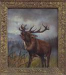 A. Siebenhüner - Deer in rutting season