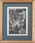 Johann Rudolph Störklin - The Birth of Jesus ( Adoration of the Shepherds )