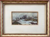 Frantisek Patocka - Behind the village, winter