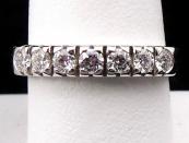 Ring with seven diamonds 0.40 ct - Girgio Visconti, Italy