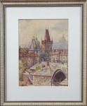 Alois Jezek - Bridge Tower, Charles Bridge in Prag