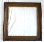 Square frame with ornament of a Acanthus