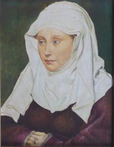 Robert Campin - Portrét ženy , kopie