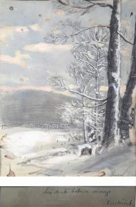 Ferdinand Engelmüller - Zimní krajina (2).JPG