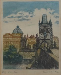 Emil Wänke - Staroměstská mostecká věž (3).JPG