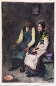 Adolphe Fényes - Sedící muž se ženou (2).JPG