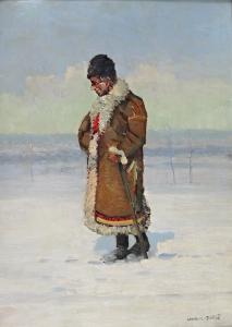 Ludvík ( Ludva ) Dobeš - Muž v kožichu (2).JPG