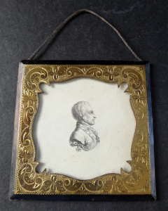 Portrétní silueta s Řádem zlatého rouna (1).JPG