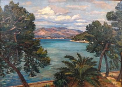 Lili Gödl Brandhuber - Pobřeží u zálivu (2).JPG