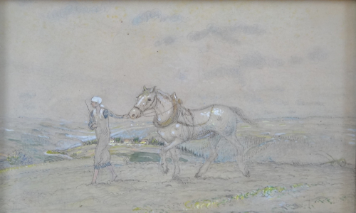 Jaroslav Honzík - Dívka s koněm (2).JPG