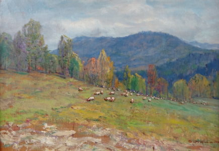 Karel Schauer - Pasoucí se ovce (2).JPG