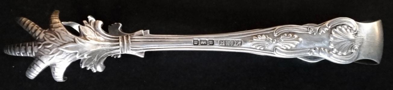 Stříbrné kleštičky, s pařáty - Henry Williamson, Anglie (1).JPG
