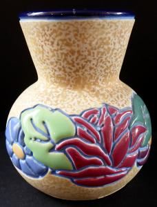 Secesní vázička s květy - Amphora, Trnovany u Teplic (1).JPG